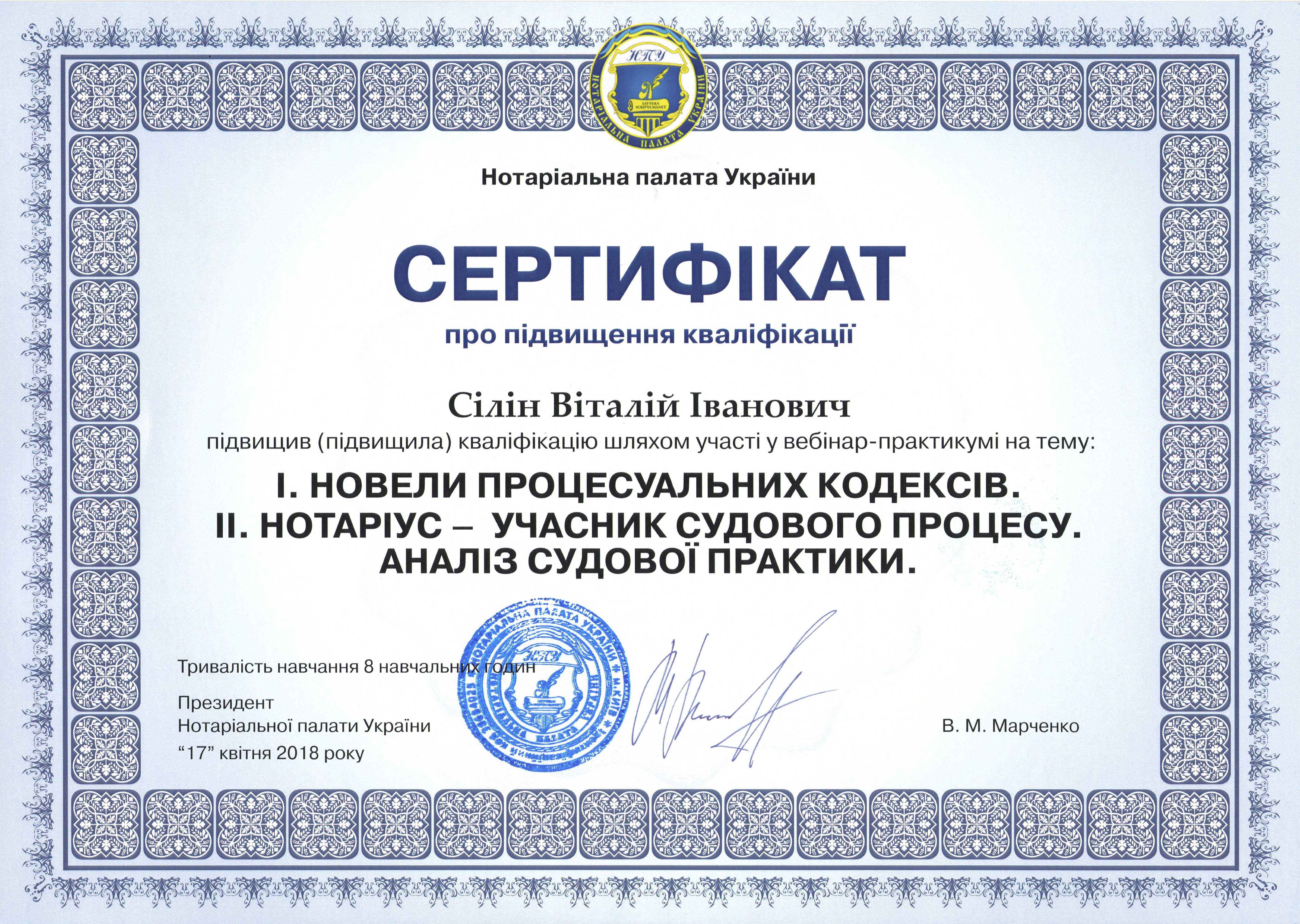 сертификат Силин3