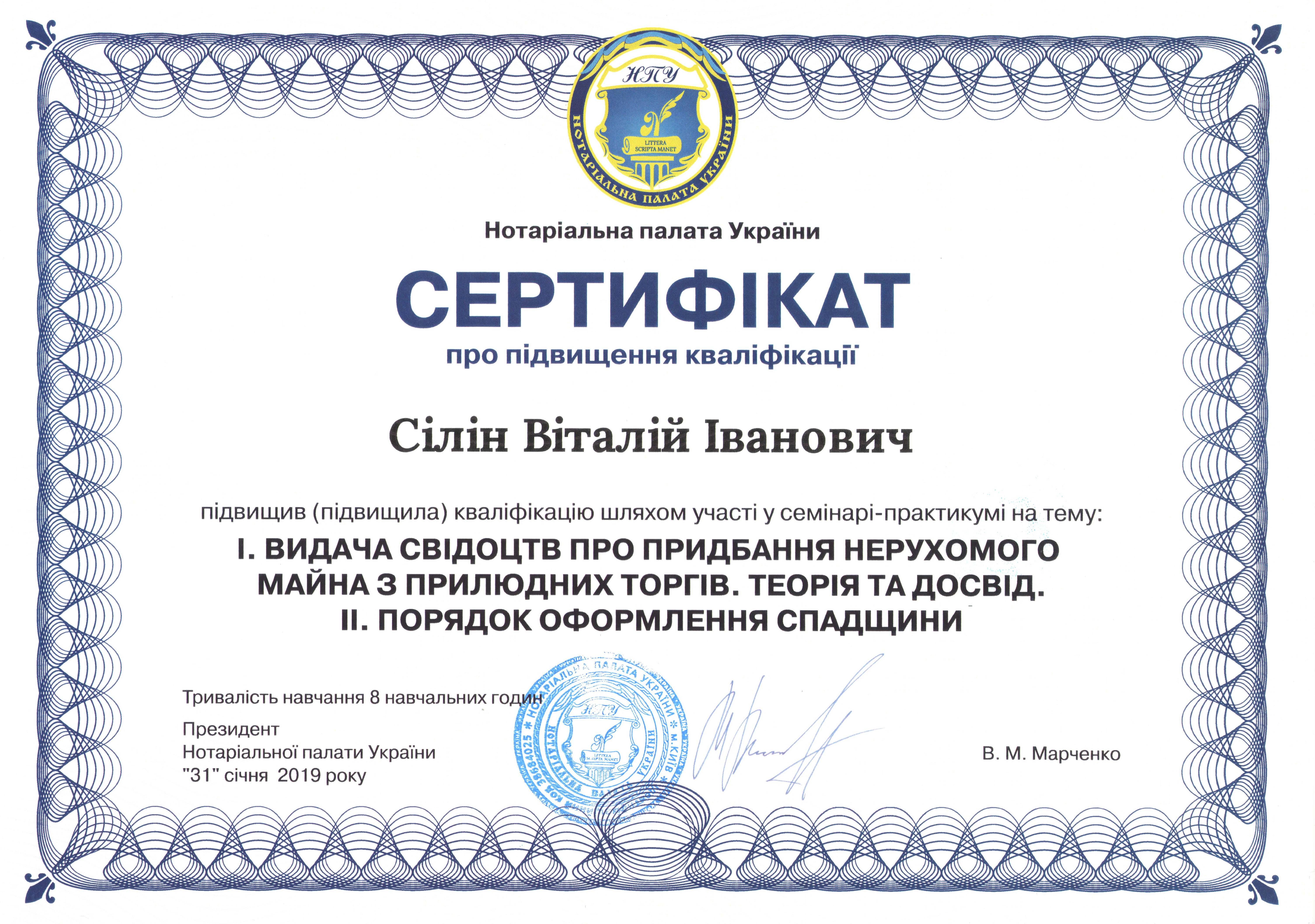 сертификат Силин2
